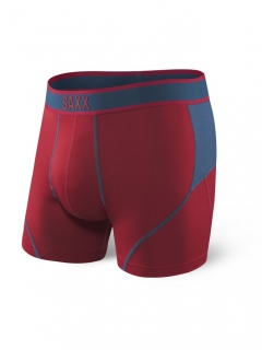SAXX Kinetic boxer deep red/blue